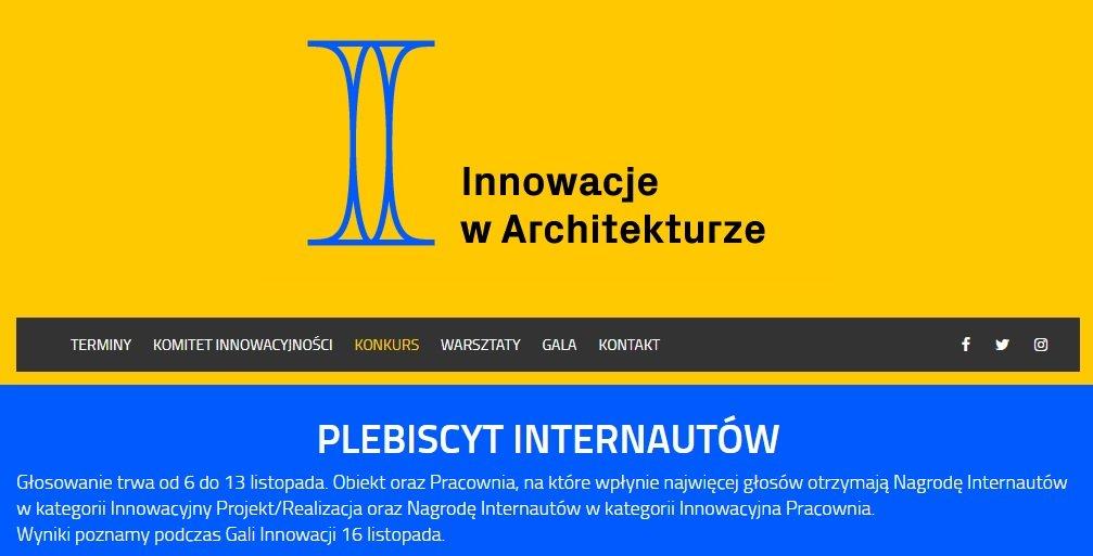 Wykonana przez nas elewacja w plebiscycie magazynu Murator – Innowacje w Architekturze